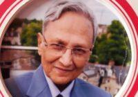 बच्चों के जन्मजात टेढे पैरों को ' राम्स टेपिंग ' से ठीक करने की तकनीक खोजने वाले विख्यात सर्जन डॉ. शत्रुघ्न राम नहीं रहे